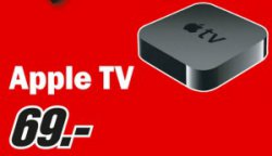 [LOKAL] Apple TV 3. Generation für 69€ [idealo 93,99€] @MediaMarkt