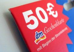 [LOKAL] Sa. 14. Juni ab 10 Uhr: Die ersten 100 Kunden/Innen pro teilnehmender Filiale erhalten einen 50€-dm Gutschein!