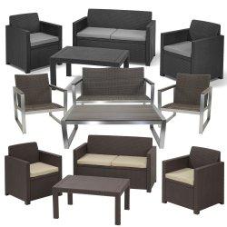 Lounge Set Merano oder Riviera Sitzgruppe Gartenset für 199€ [idealo 299€] @ ebay
