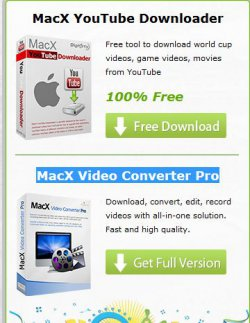 MacX Video Converter Pro + MacX YouTube Downloader Gratis für euren Mac als Download @macxdvd.com