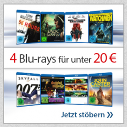 Mid – Season Sale – 4 Blu Rays (gebrauchte) unter 20€ oder DVDs für 1€ @ Reb