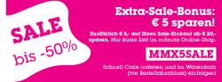 MOEMAX: Zusätzlich 5 € auf Ihren Sale-Einkauf von 20 €