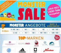 Monster Sale bei baby-walz 13.000 Teile bis zu 70% reduziert