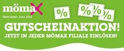 Neue MOEMAX Gutscheinaktion mit bis zu -50% Rabatt (z.B. Schlafsofa für 149 € statt 299 €, Tagesbettgestell für 44 € statt 89,90 €)