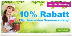 Nur 2 Tage 10% Rabatt auf alles @GartenXXL