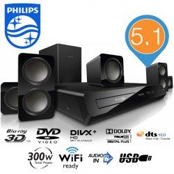 Philips HTB3560 3D-Blu-Ray-5.1-Heimkino-System für 129,95 € zzgl. 8,95 € Versand (155,94 € Idealo) @iBOOD Extra