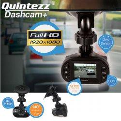 Quintezz Full HD Dashcam+ mit 140° Ultra-Weitwinkel-Objektiv für 29,95 € zzgl. 5,95 € Versand (75,90 € Idealo) @iBOOD Extra