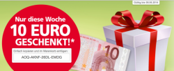 Real Online Shop 10€ Gutschein @real,-