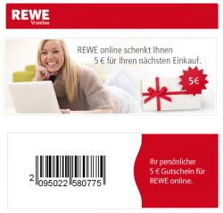 @rewe-online.de 5 Euro Rabatt ab 40 Euro MBW