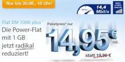 @simplytel.de: bis 30.06.14 nur 14,95€ statt 19,90€ monatlich kündbar – Festnetzflat, Handyflat, SMS Flat, Surfflat 1,0 GB !