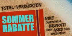 Sommer-Rabatte mit bis zu 88 Prozent Rabatt auf viele Marken bei Plutosport