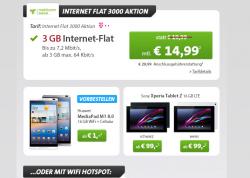 Sparhandy Spezial Deals Verträge zb.Talk Easy 100 Telekom Nur Karte für 1,99€ oder Internet Flat 3000 für 14,99€