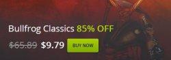 Spielebundles bis zu 85% Rabatt plus Gratisspiel bei gog.com
