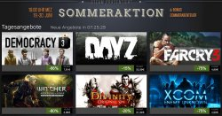 Steam Sommeraktion bis 30.06.14 – Game bis 80% reduziert @store.steampowered.com