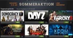 Steam Sommeraktion bis 30.06.14 – Game bis 80% reduziert @store.steampowered.com