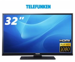 Telefunken 81 cm (32) Smart TV m. Triple Tuner für 199,99€ VSKfrei [idealo 223,99€]@ One.de