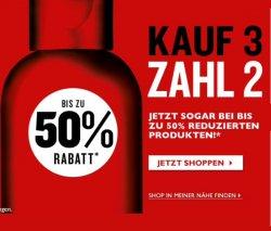 The Body Shop: Aktion Kauf 3 Zahl 2 und 10€ Gutscheincode (MBW 45€)