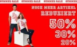Tom Tailor Summer Sale mit bis zu 50% Rabatt Versandkosten 2,95 Euro @Tomtailer