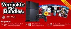 Verrücktes PS4 Bundle Aktion @Mediamarkt die PlayStaion4 + Spiel nach Wahl für 409,99€