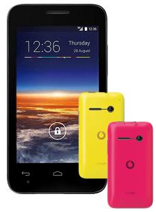 Vodafone Smart 4 mini & 2 Cover + Call Ya Fun 15 Prepaired Karte für 59€@ Vodafone
