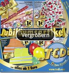 [Lokal] Warnweste (ab 1.7. Pflicht) für einen schlappen Euro bei Tedi