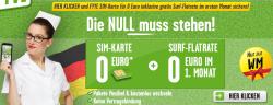 WM Aktion: Prepaidkarte für 0 € + 1 Monat GRATIS surfen @Fyve.de