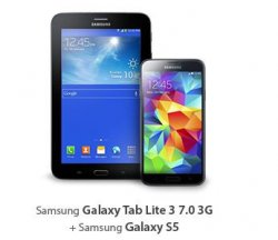 WM Knaller bei Sparhandy.de: Smartphone + Tablet im Bundle für 1,-€ mit Vodafone Red S Allnet-Flat (1.75GB im Monat!) für monatl. 39,99€