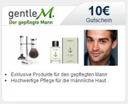 10 € gentle M. Gutschein mit 10 € MBW zzgl. 3,50 € Versandkosten bei Sovendus