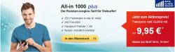 1GB Surf Flat+ 250 Freiminuten + 250 Frei-SMS in alle dt. Netze für mtl. 9,95€