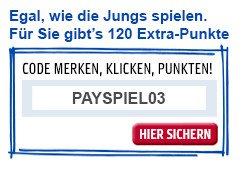 120 Extra-Punkte mit Gutscheincode für online Einkauf bei einem PAYBACK Partner bis 08.07.2014