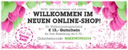 15€ Gutschein MBW 70€ @Mömax