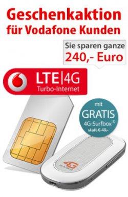 1GB Highspeed Datenvolumen OHNE Grundgebühr für Vodafone Kunden