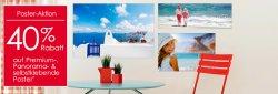 40% Rabatt auf Fotoposter bei Foto Quelle
