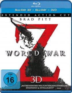 5 Tage Film Angebote vom 04.07. bis 08.07.2014 bei Amazon, z.B. World War Z 3D für nur 14,97€