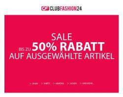 50% Gutscheincode für clubfashion24.de