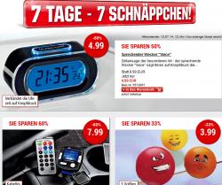7 Tage 7 Schnäppchen @Weltbild z.B. Dual Uhren-Radio CR08 für 9,99 € (21,99 € Idealo)