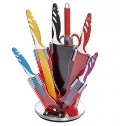 8 teiliges buntes Royalty Line Messer-Set – Keramikbeschichtung für 19,99€ @clickdeal24.de