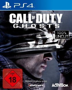 @amazon.de PS4 Call of Duty: Ghosts (100% uncut) USK ab 18 für 29,97 (Idealo: 39,95€)