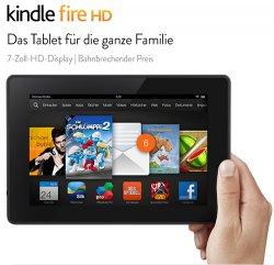 @amazon.de WHD bietet Kindle Fire HD 7, WLAN, 8 GB (akzeptabel, gut) für 67,17€ (amazon 79€)