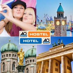 A&O Gutschein: 2 Übernachtungen pro Person nur 9€ (16 Städte) @eBay