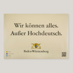 @baden-wuerttemberg.de verteilt kostenlose Baden-Württemberg Aufkleber und Plakate.