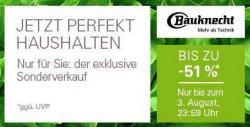 Bauknecht Sonderverkauf bis zu 51% Rabatt bei Ebay zb. BAUKNECHT GKN 272 A3+ für 599€