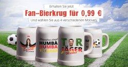 Bierkrug selbst gestalten für 0,99€ zzgl. Versand @Myprinting
