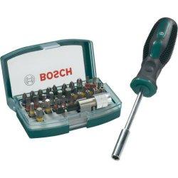 Bosch 32-tlg. Schrauberbit-Set für 9,99€ kostenloser Versand [idealo 14,09€] @ebay