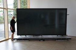 Edelschnäppchen! 152 Zoll Panasonic – weltweit größtes Plasmadisplay mit 4K & 3D für € 452.200 statt € 604.889 @Kölnmedien
