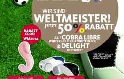 Funfactory Delight Baby Rose für 49,50€ und Cobra Libre für 52€ @Funfactory