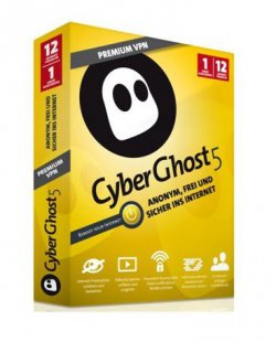 Gratis 3 Monate CyberGhost 5 Premium VPN @Windowsdeal
