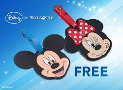 Gratis Gepäckanhänger von Disney by Samsonite