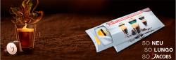 Gratis Jacobs Kaffee momente für Nespresso®* Maschinen – solange der Vorrat reicht.