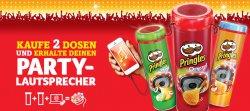 GRATIS Lautsprecher für 2 Packungen Pringles (3 € Zuzahlung) @Pringles